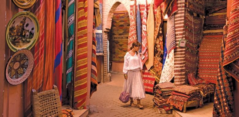 fours seasons marrakech, souk