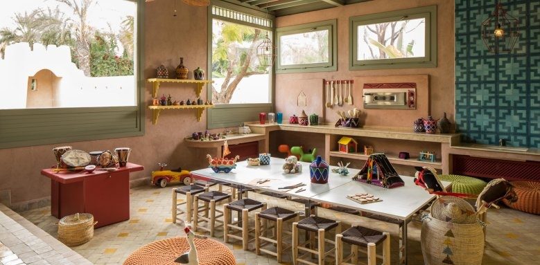 Four Seasons Resort Marrakech, kids table