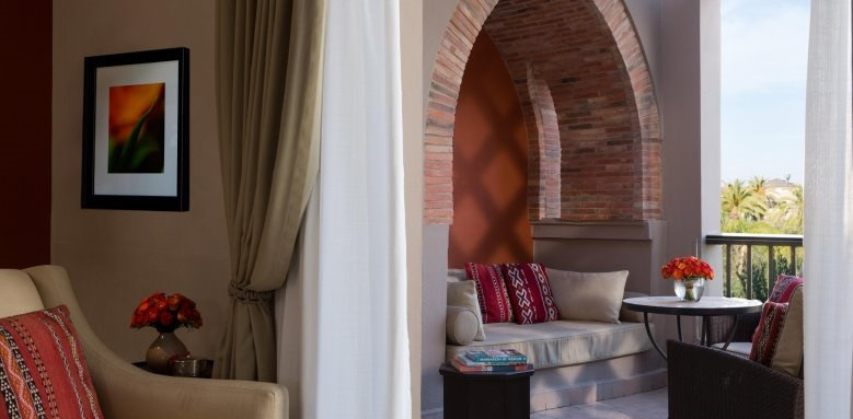 Four Seasons Resort Marrakech, private terrace