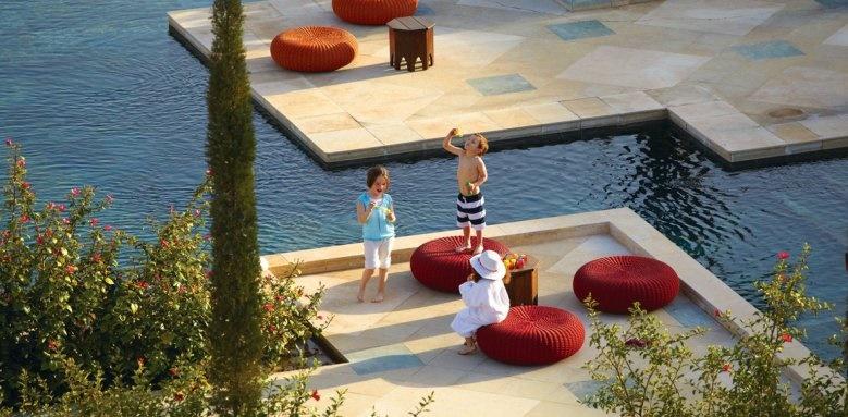fours seasons marrakech, family pool