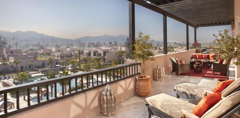 fours seasons marrakech, veranda
