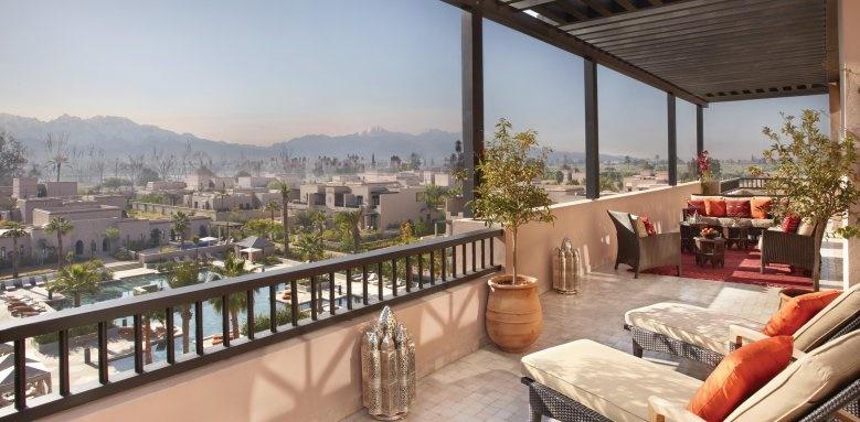 Four Seasons Resort Marrakech, terrace view