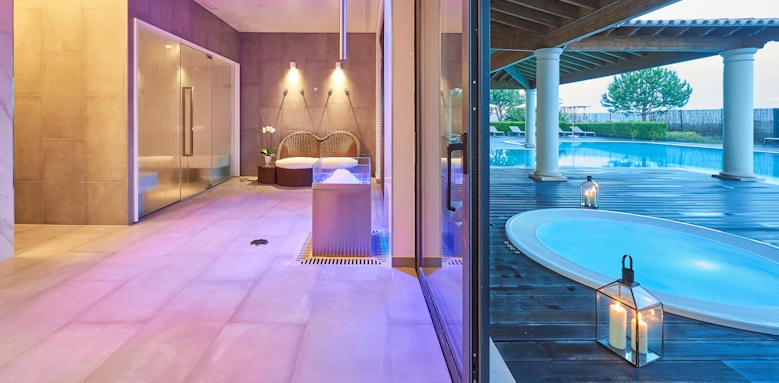 Cascade Wellness Resort, Turkish bath jacuzzi