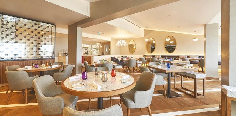 cascades wellness resort, senses restaurant