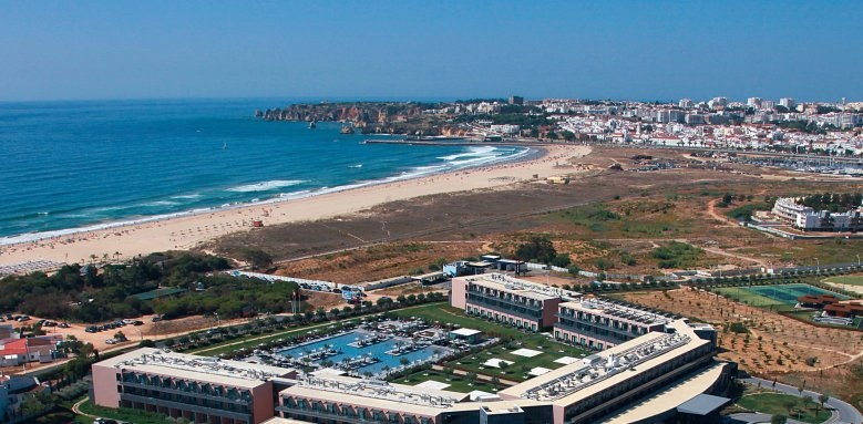 Vila Gale Lagos, aerial view