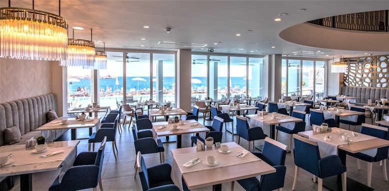 Royal Ariston, restaurant vista