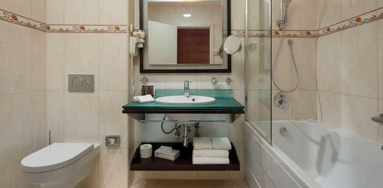 Royal Ariston, Standard room bathroom