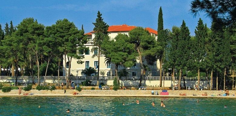 Villa Vela Luka, view from the sea
