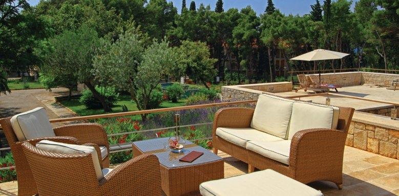 Hotel Amor, terrace