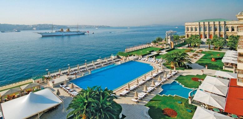 Ciragan Palace Kempinski,  Bosphorus view