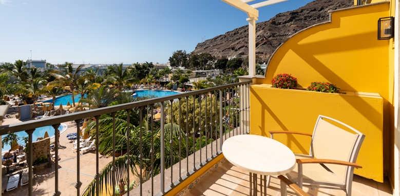 Cordial Mogan Playa, Standard Double Room balcony