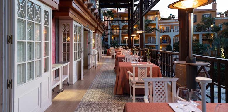 Cordial Mogan Playa, Los Guayres restaurant