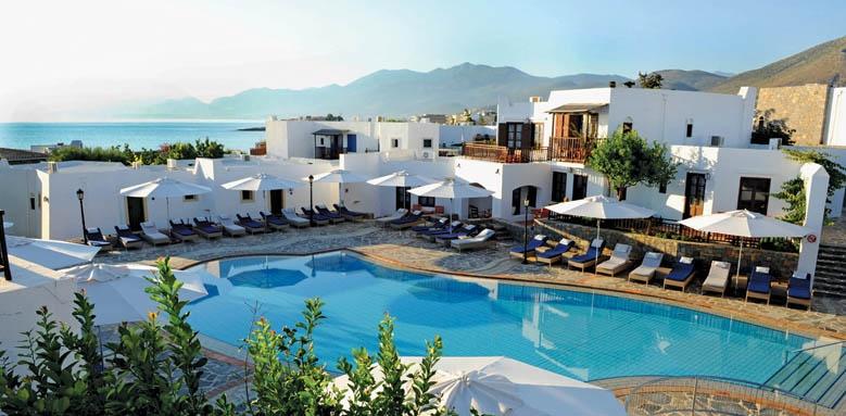 Creta Maris, bungalow pool