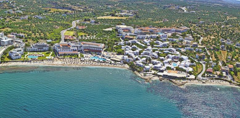 creta maris, aerial view