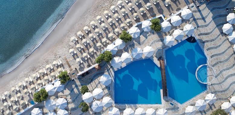 Creta Maris Beach Resort, aerial view