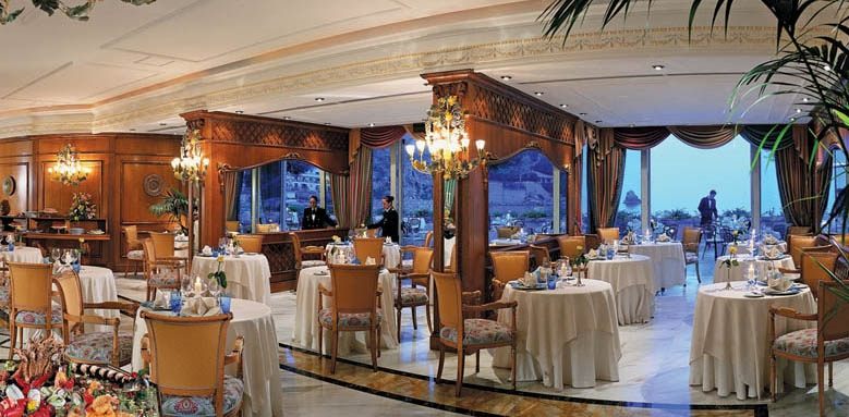 Grand Hotel Mazzaro Sea Palace, restaurant