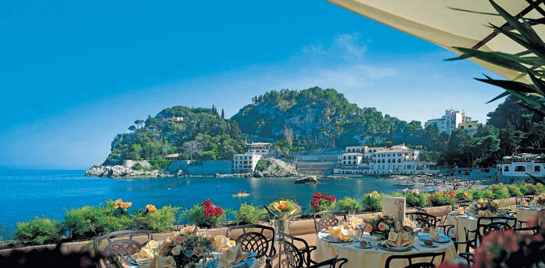 Grand Hotel Mazzaro Sea Palace, view