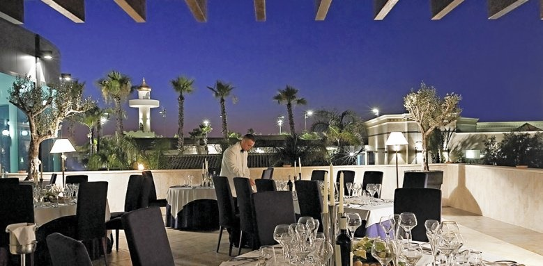 Grand Hotel Minareto, Evening Terrace
