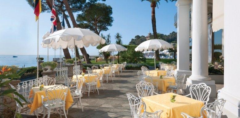 Grand Hotel Miramare, bar  colonne