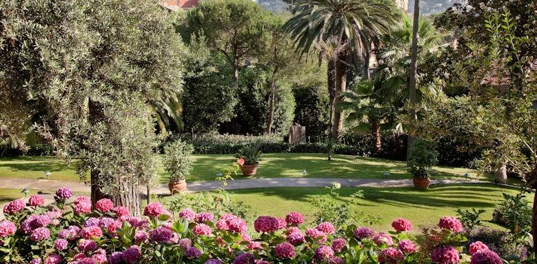 Grand Hotel Miramare, garden