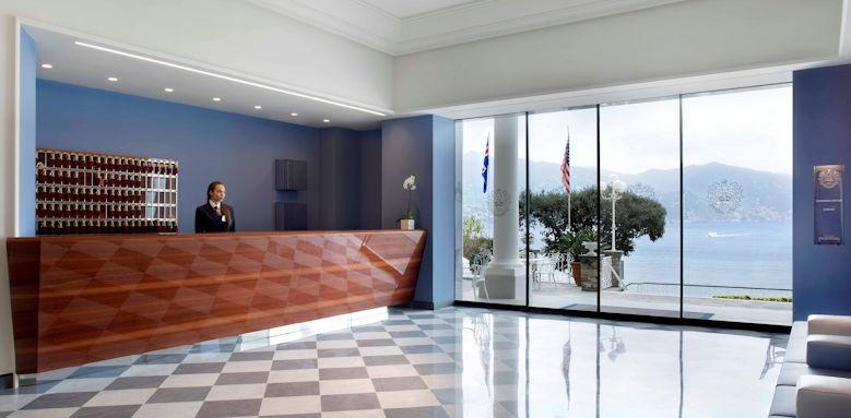 Grand Hotel Miramare, lobby