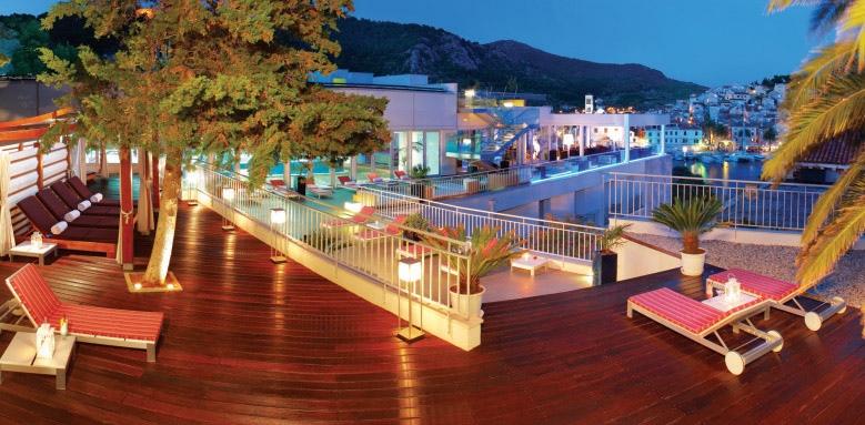 Adriana Hvar Marina Hotel & Spa, terrace