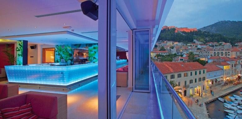 Adriana Hvar Marina Hotel & Spa, rooftop bar