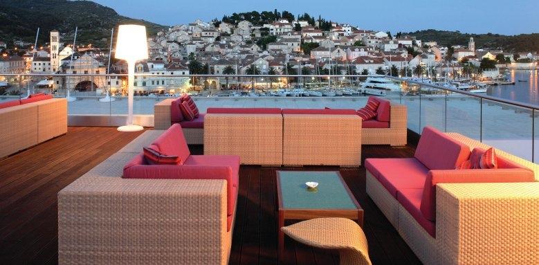 Adriana Hvar Marina Hotel & Spa, VIP terrace