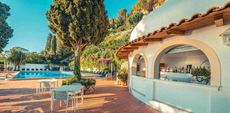 Grand Hotel Miramare, pool bar