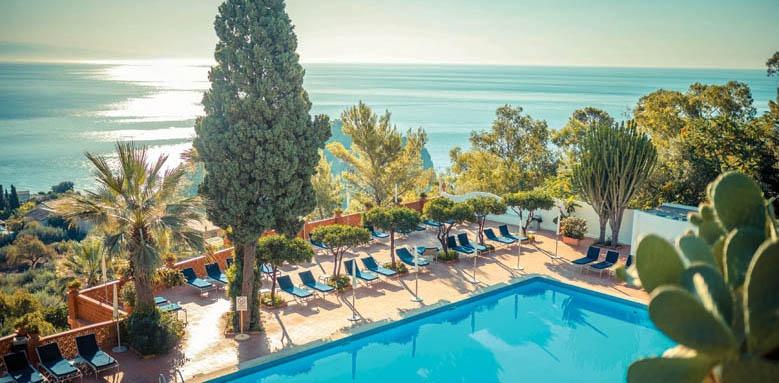Grand Hotel Miramare, pool with sea view