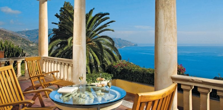 Grand Hotel Miramare, suite terrace