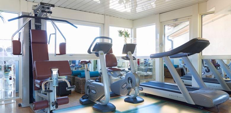Principe di Piemonte, fitness room