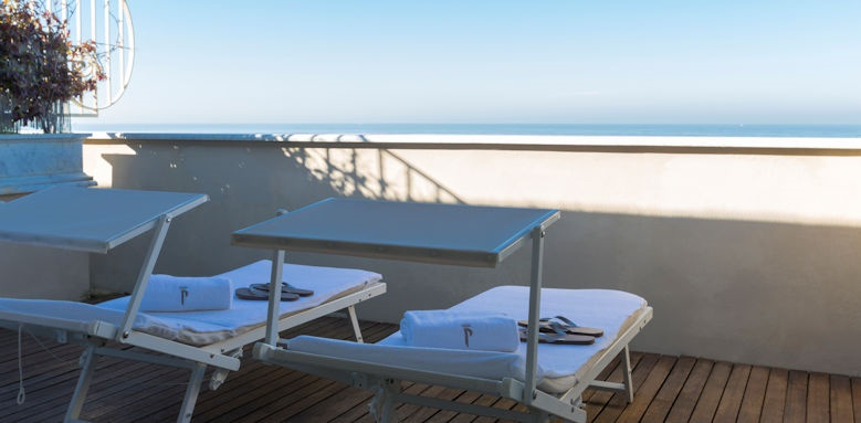 Principe di Piemonte, modern balcony junior suite