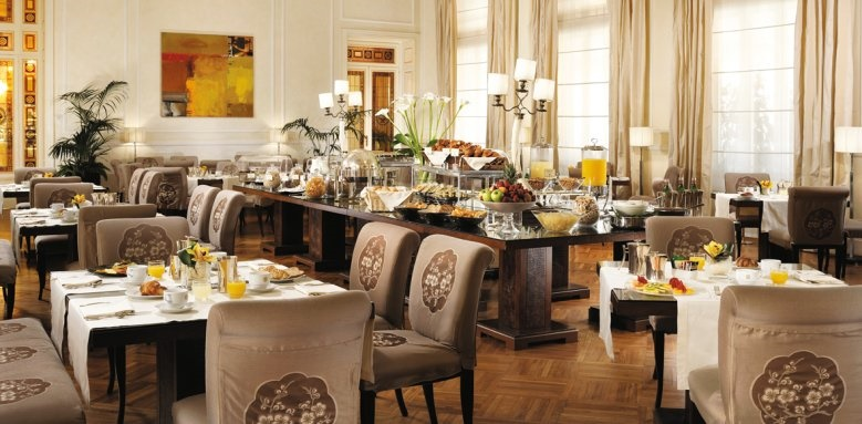 Grand Hotel Principe Di Piemonte, breakfast room