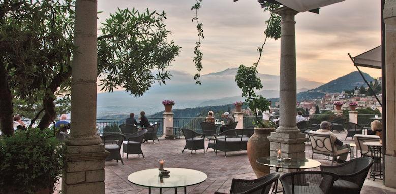 belmond grand hotel timeo, terrace