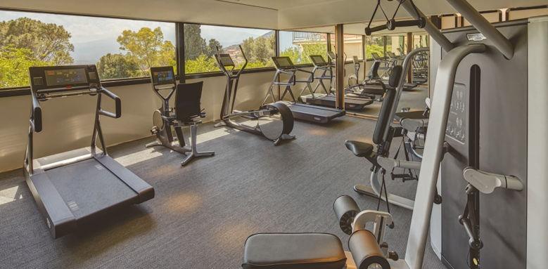 belmond grand hotel timeo, gym