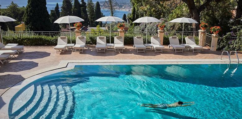 belmond grand hotel timeo, swimming