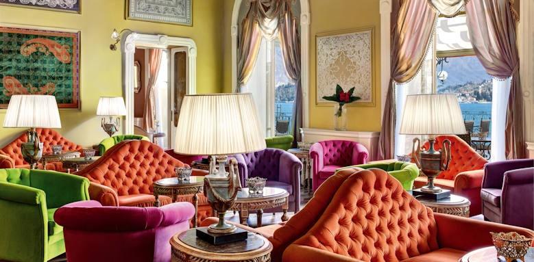 Grand Hotel Tremezzo, sala musica
