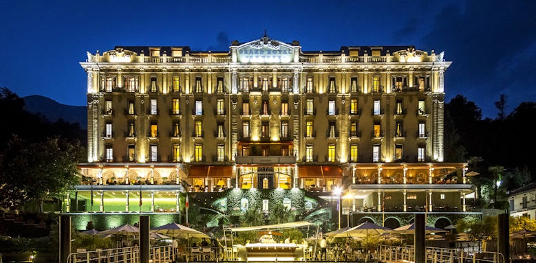 Grand Hotel Tremezzo, palace by night