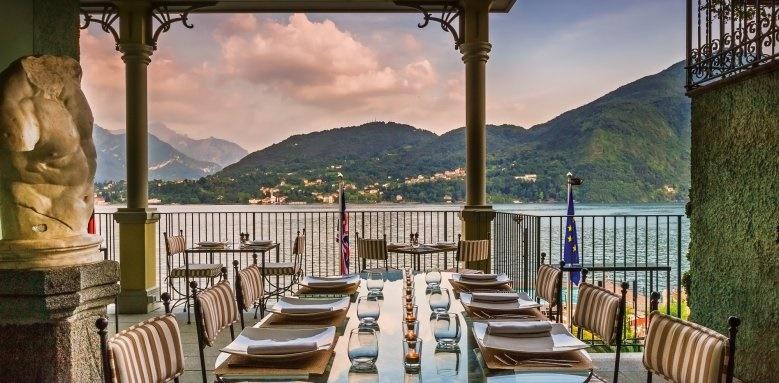 Grand Hotel Tremezzo, restaurant view
