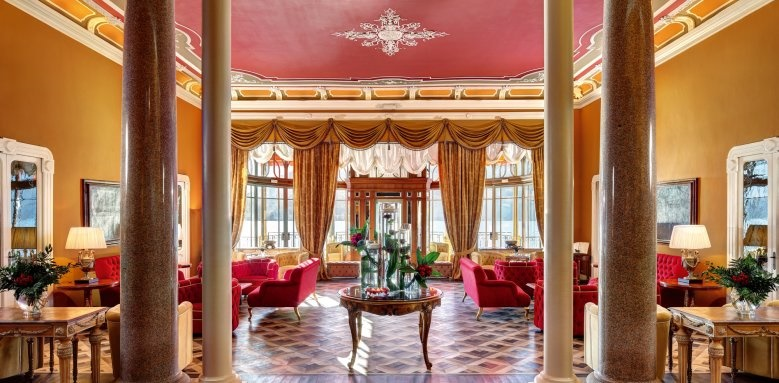 Grand Hotel Tremezzo, lobby