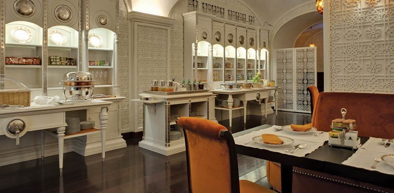 Grand Hotel Villa Cora, breakfast room