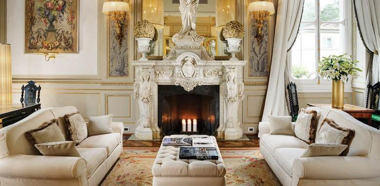 Grand Hotel Villa Cora, White room