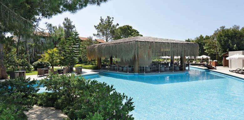 Gloria Golf Resort,  pool bar exterior