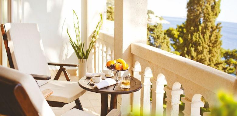 grand villa argentina, villa glavic balcony