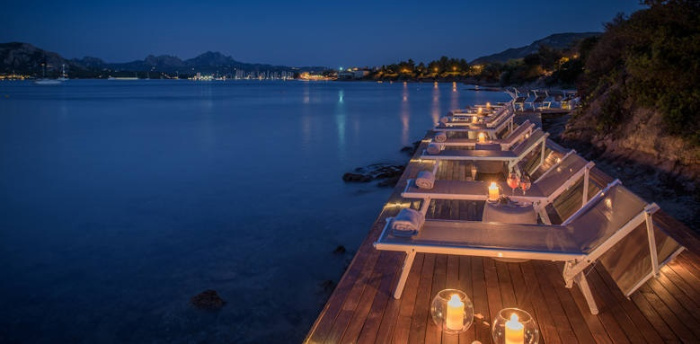 Villa Del Golfo, deck
