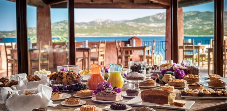 Villa Del Golfo, breakfast