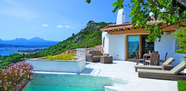 Hotel Relais Villa Del Golfo & Spa, luxury suite villa private pool