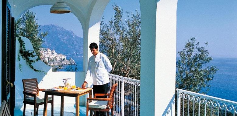 Hotel Santa Caterinam, deluxe suite terrace
