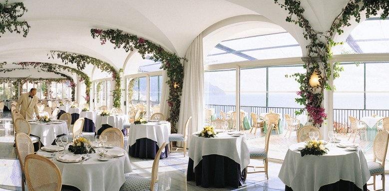 Hotel Santa Caterina, restaurant